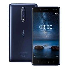 Nokia 8 64GB Dual (4GB RAM) TA-1004 Polished Blue (Синий)