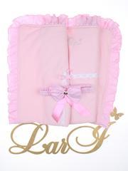 Конверт одеяло Улыбка (розовый)