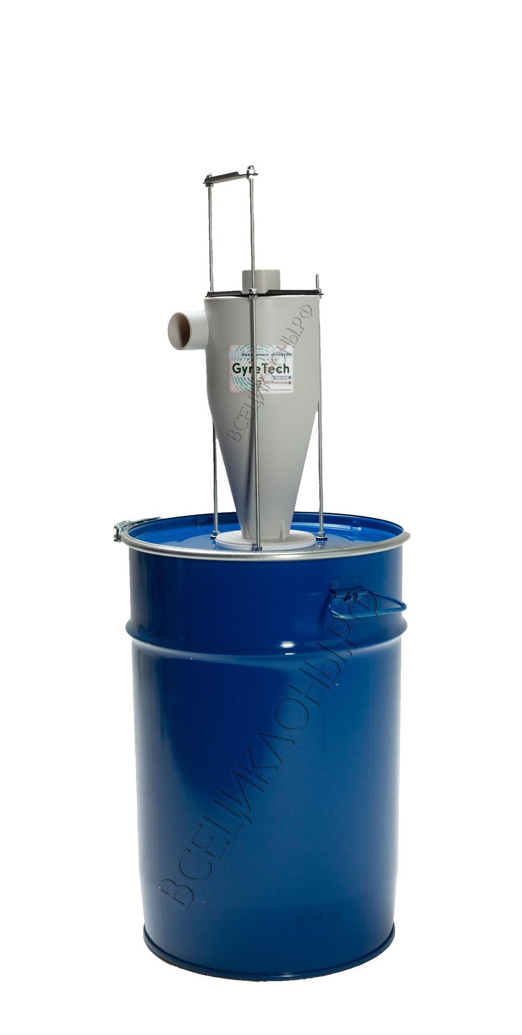 Комплект 50 л с фильтром М-3 (скелетный крепёж, шланг и циклонный фильтр продаются отдельно)