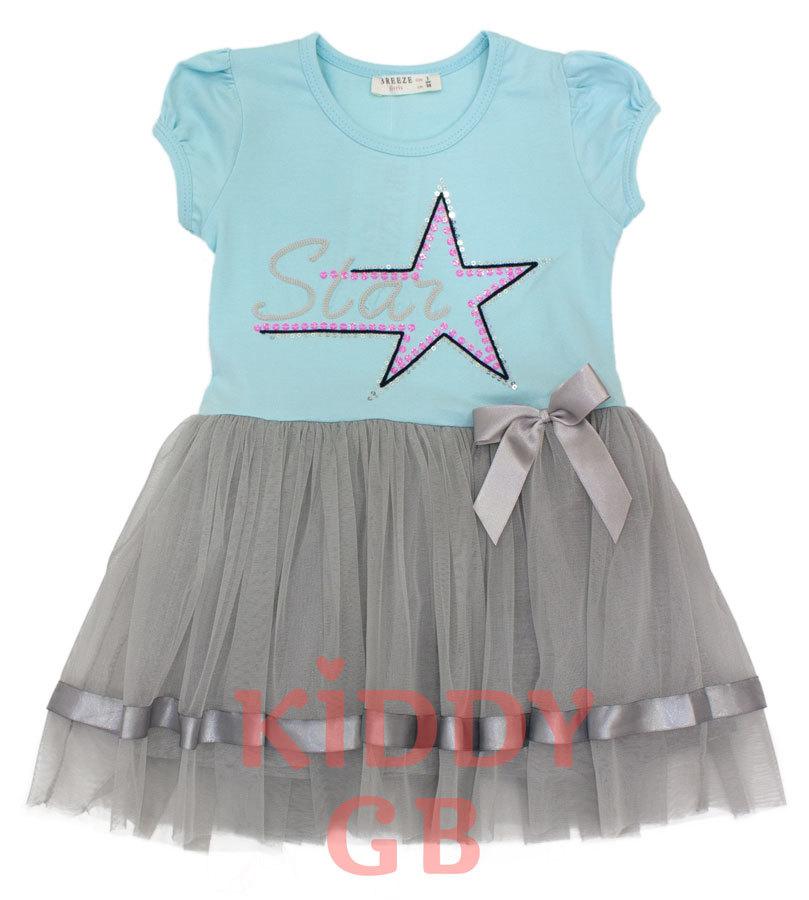 Платье Breeze 14116 blue
