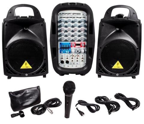 Звукоусилительные комплекты Behringer EPA300