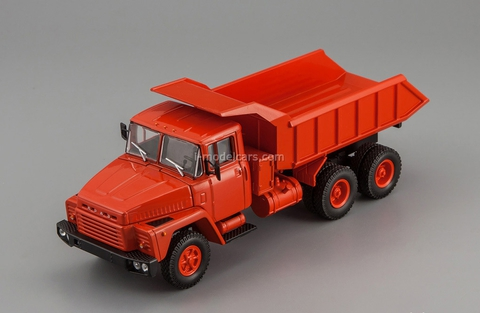 KRAZ-251 dump 1979-1981 red 1:43 Nash Avtoprom