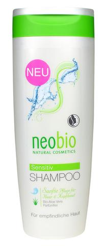 NEOBIO шампунь для чувствительной кожи головы