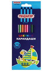 181250 карандаши цветные, заточенные