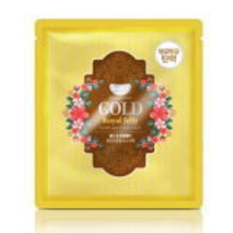 Гидрогелевая маска для лица ЗОЛОТО/МАТОЧНОЕ МОЛОЧКО Gold & Royal Jelly Mask, KOELF