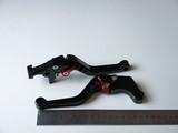 Рычаги ручки тормоза и сцепления Honda VTR 250 CB 400 CB-1 чёрные