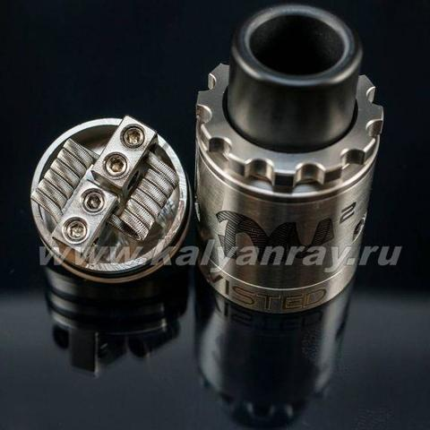 Twisted Messes v2 RDA clone с намоткой