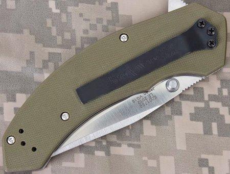 Нож KERSHAW Lahar модель 1750GRN