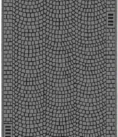Булыжная мостовая - 100 х 4 см, (ТТ)