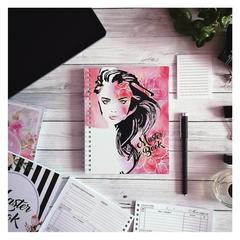 Планер на пружине «Девушка Розовая» MasterBook