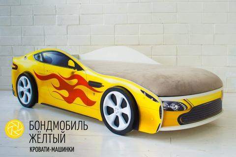 Кровать с подъемным механизмом Бондмобиль