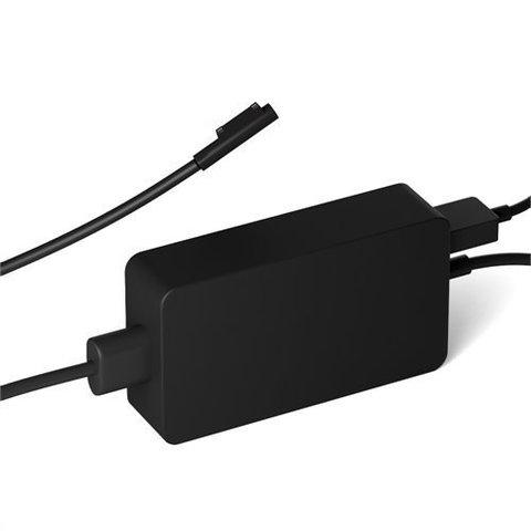 Адаптер питания Microsoft Power Supply 102W для Microsoft Surface Pro 5,6,Surface Book 2, Surface Laptop 1/2 (черный)