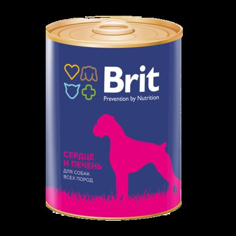 Brit Premium Heart & Liver Консервы для собак Сердце и Печень