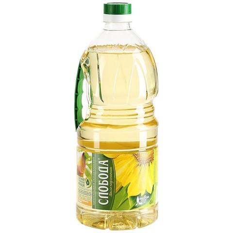 Масло подсолнечное Слобода  1.8 л