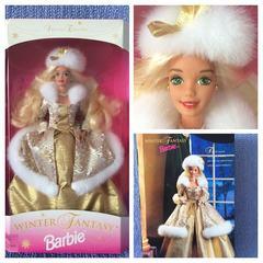 Барби Коллеционная Barbie 1995 Winter Fantasy