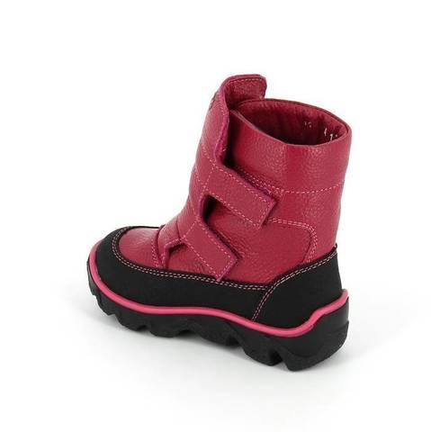 Зимние ботинки, цвет  фуксия Тотто (ТРК ГагаринПарк)