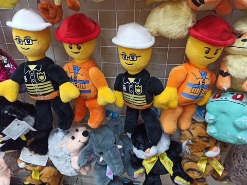 Лего мягкие игрушки