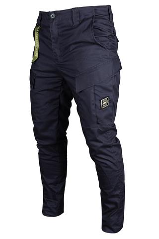 Городская тактика галифе стрейч с усиленной накладкой в цвете navy купить всего за 5999р