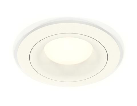 Комплект встраиваемого светильника XC7621001 SWH белый песок MR16 GU5.3 (C7621, N7010)
