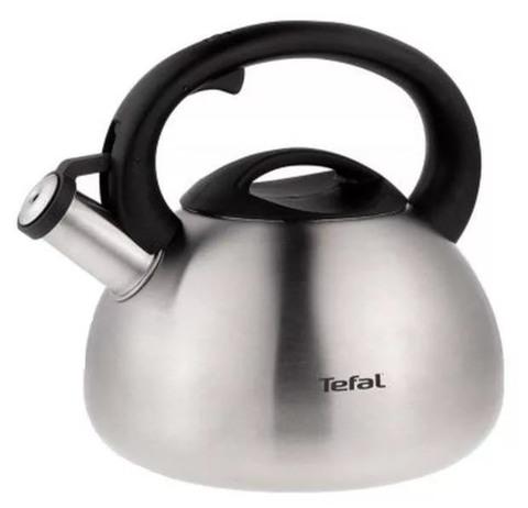 Чайник металлический Tefal C7921024 2.5л. серебристый