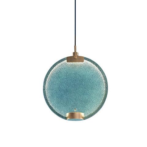 Подвесной светильник Horo by Masiero (голубой)