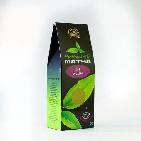 Чай Зеленый Матча, 50г (Хелпер Мед)