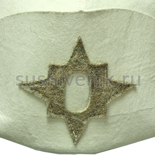 Шляпа для бани Наполеон
