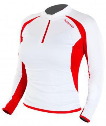 Рубашка Noname Flora 13, white/red, wo's