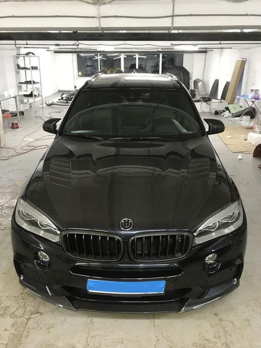 Карбоновый капот для BMW X6 F16