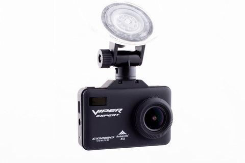 Комбо-устройство (видеорегистратор с радар-детектором и GPS)  COMBO Viper Expert SIGNATURE