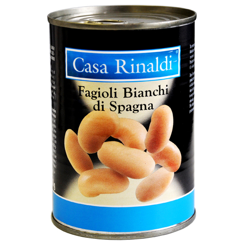 Фасоль Casa Rinaldi белая Испанская 400 г