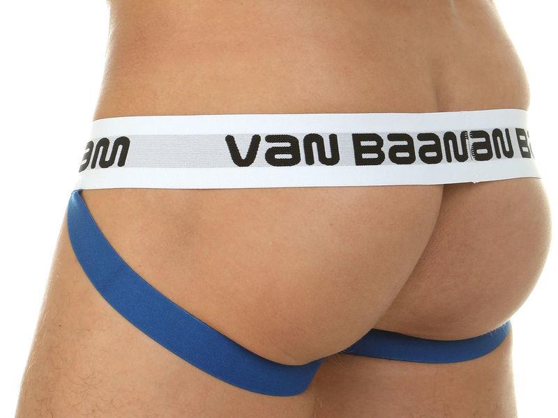 Мужские трусы джоки с разноцветным принтом Van Baam 39814