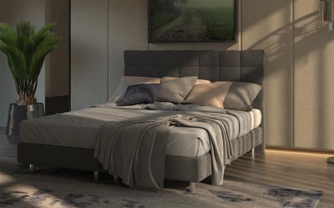 Кровать Proson Riga Boxspring Standart с основанием