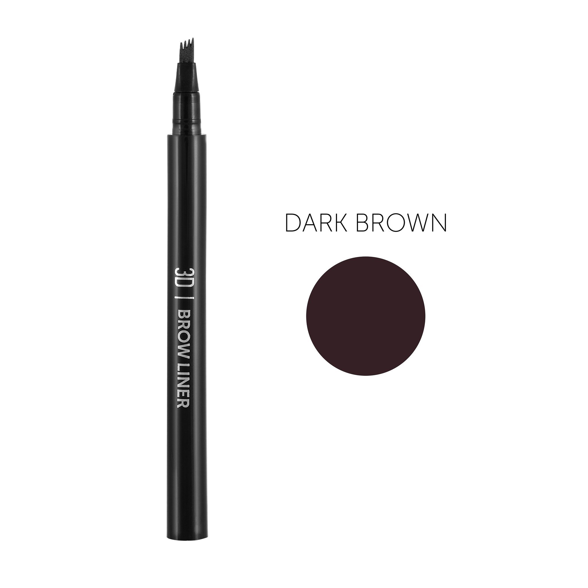 Маркер для бровей CC Brow 3D Liner Dark brown