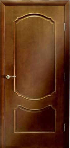 Дверь Виктория ПГ (светлый анегри, глухая шпонированная), фабрика LiGa