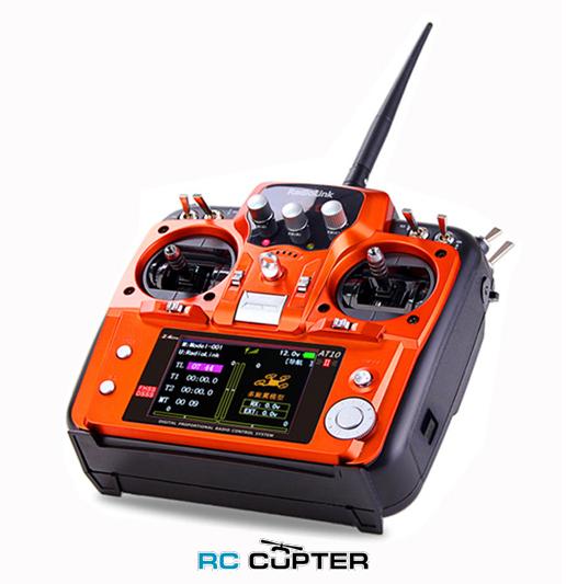 Аппаратура управления RadioLink AT10 II (V2) 2.4 ГГц 12 каналов + приёмник R12DS