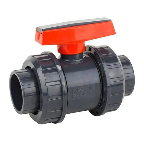 Шаровый кран ПВХ 1,0 МПа диаметр 50, UTB01050 PoolKing