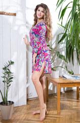 Туника пляжная женская Mia-Mia 57705