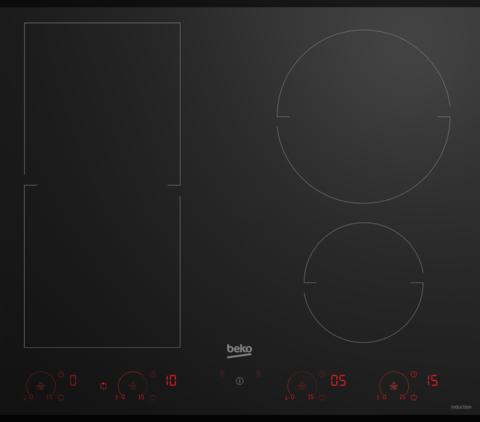 Встраиваемая индукционная панель Beko HII 64800 FHT