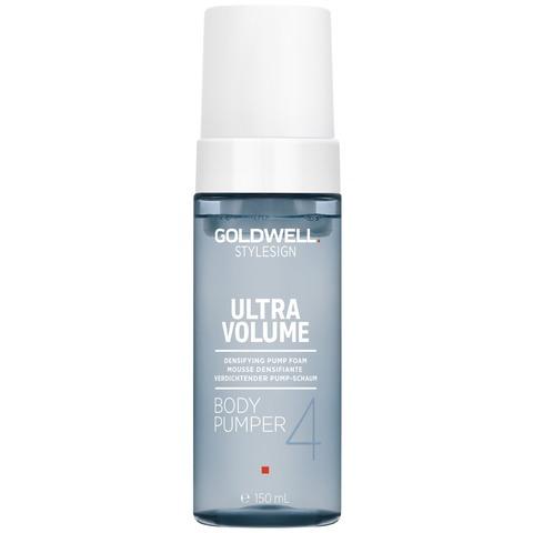Пенка легкая уплотняющая для объема волос Goldwell StyleSign Ultra Volume Body Pumper, 150 мл