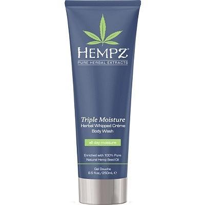 Hempz - Средства для душа: Гель для душа - Тройное увлажнение (Triple Moisture Herbal Body Wash), 250мл