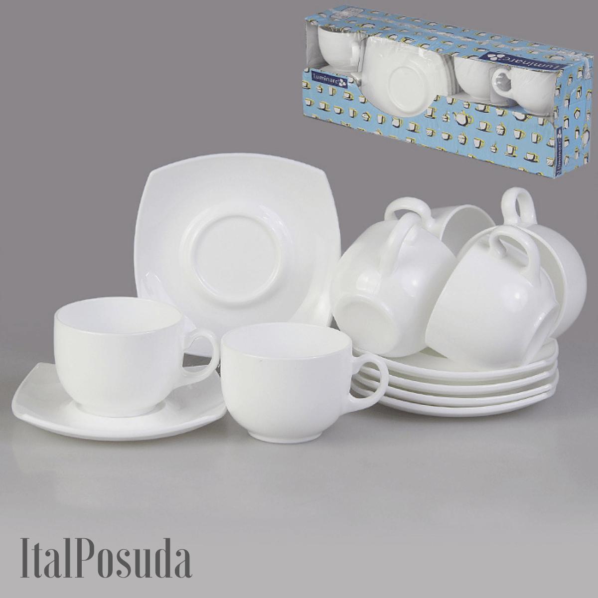 Чайный сервиз Luminarc Quadrato , 12 предметов E8865