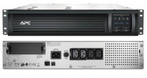 Источник бесперебойного питания SMT750RMI2U APC Smart-UPS 750 ВА