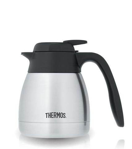 Термос-кувшин Thermos TGS 600 Brasilia Carafe (0,6 литра) стальная колба, стальной