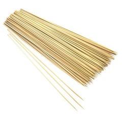 Бамбуковые палочки шпажки для декора, 25 см, 80-90 шт.