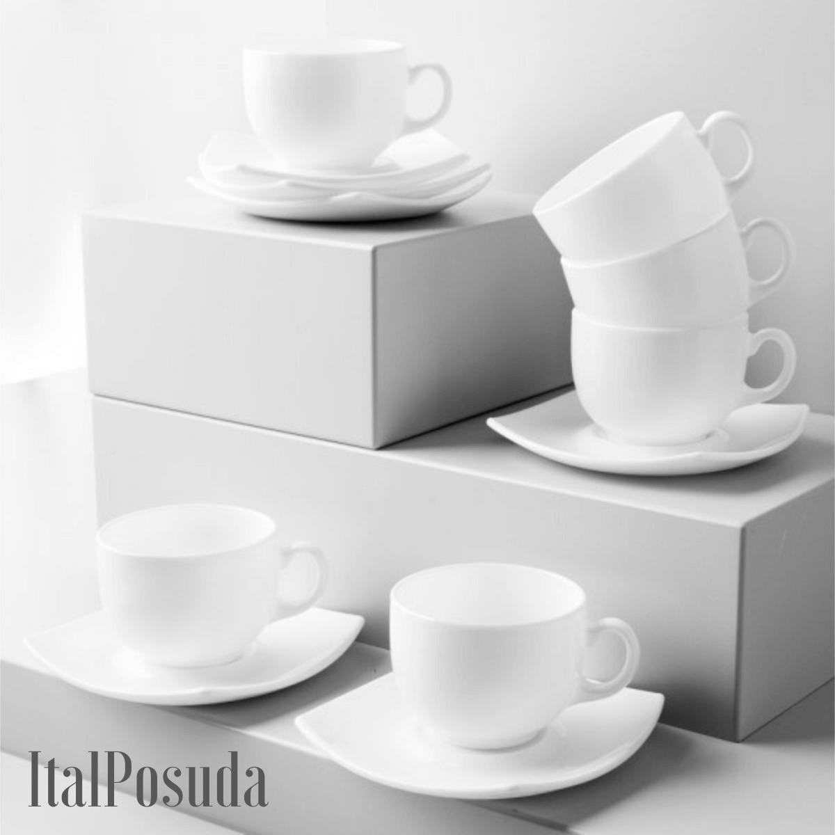 Чайный сервиз Luminarc Quadrato (Квадрато), 12 предметов E8865