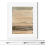 Marina Sturm - Репродукция картины в раме Evening sky over the sea