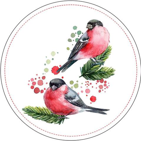 Печать на сахарной бумаге, Птицы 1