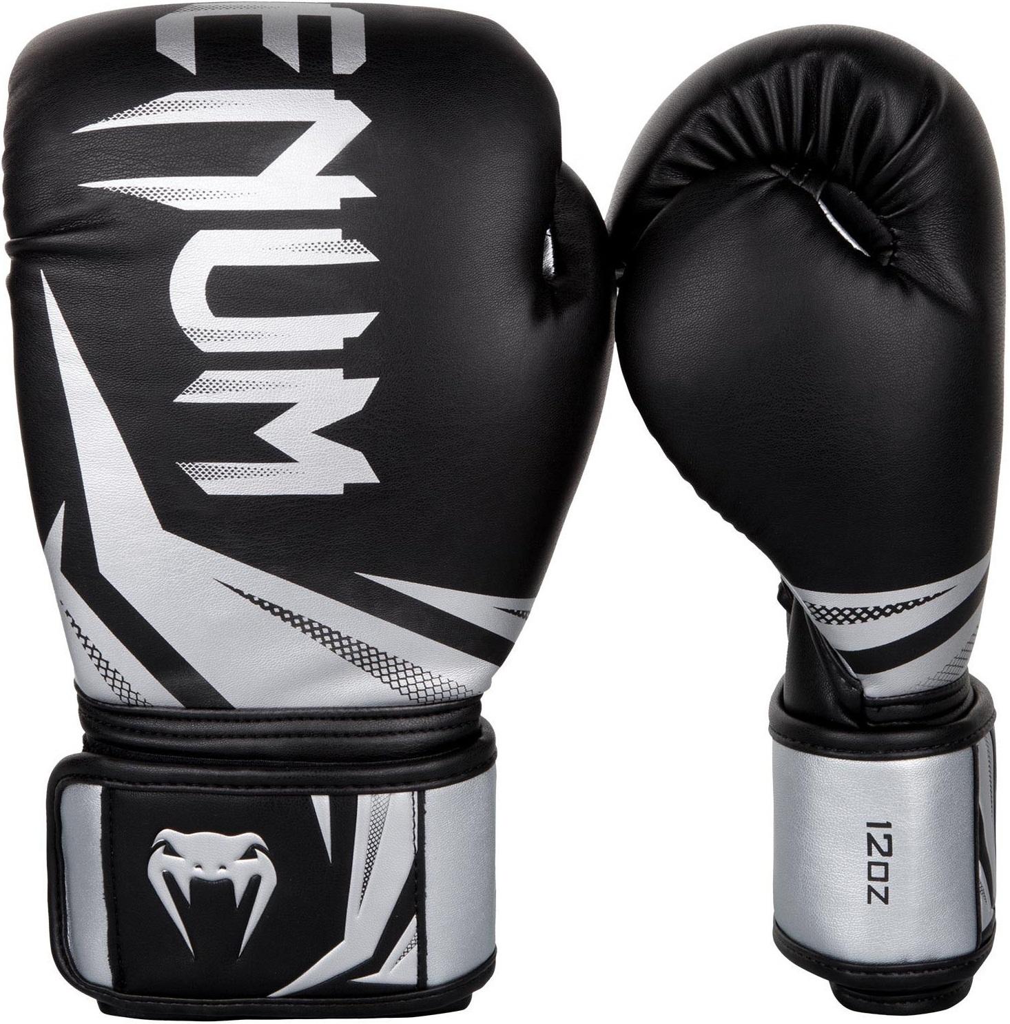 Перчатки Перчатки для бокса Venum Challenger 3.0 Boxing Gloves-Black/Silver 1.jpg