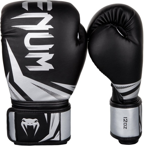 Перчатки для бокса Venum Challenger 3.0 Boxing Gloves-Black/Silver